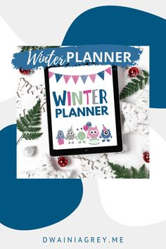 Keep your family organized by planning your family's winter activities. This colorful planner for kids and the whole family to use to plan your winter vacation. Buy Now! #winterplanner Summer Planner, Kids Planner, Weekly Planner, Indoor Activities, Winter Activities, Family Activities, Craft Day, Family Organizer, Sell On Etsy