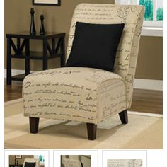 Exceptionnel Tapered Signature Chair With Pillow   Overstock™ Shopping   Great Deals On  Living Room Chairs