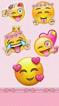 Emoji Wallpaper Iphone, Cute Emoji Wallpaper, Heart Wallpaper, Cute Wallpaper Backgrounds, Cute Cartoon Wallpapers, Aesthetic Iphone Wallpaper, Disney Wallpaper, Emoji Pictures, Emoji Images