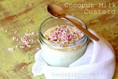 Coconut Milk Custard in the Thermomix