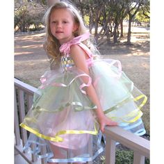 Pastel Ribbon Dress from PoshTots