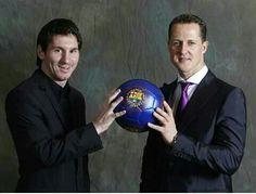 ¿Cuánto mide Michael Schumacher? - Altura - Real height 646a309dd50da8d0f10b25f97fa8d076--messi-leo