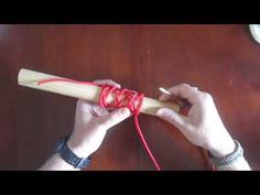 ▶ How to tie longer turks heads - YouTube