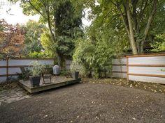 wood metal fence