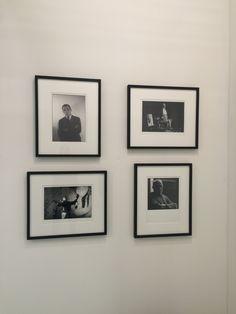 Ugo Mulas, portrait of Piero Manzoni, Alberto Burri, Giorgio De Chirico and Giorgio Morandi