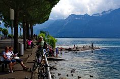 Genfersee - Promenade Das Hotel, Mountains, Nature, Travel, Naturaleza, Viajes, Trips, Nature Illustration, Outdoors