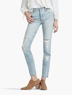 High rise jeans from @luckybrandjeans Lucky Brand! #myluckybrand #ad