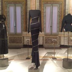Couture/Sculpture: Azzedine Alaïa in the History of Fashion @ The Galleria Borghese in Rome