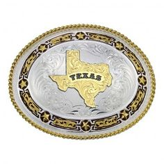 Montana Star Links Western Belt Buckle With State of Texas 11310-610TX-BK $115.00