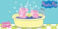 Iltapesulla käynti voi olla tosi mukavaa kun Pipsa Possu saa itse valita shampoon tuoksun ja vesilelutkin saa ottaa mukaan. Peppa Pig Teddy, Toy Chest, Shampoo, Youtube, Youtubers, Youtube Movies