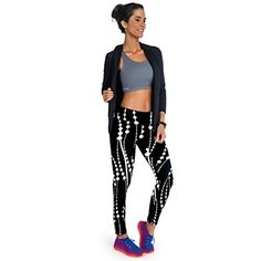 3b5232cb5d Usstore Women Sport Pants Stretch Cropped Nine Points Leggings Yoga/Jogging  (M, White)
