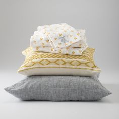Gray Linen Pillow Sham   Bedding by Schoolhouse Electric & Supply