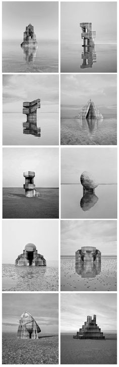© Noémie Goudal - Observatoires These are really great! Reminiscent of Bernd & Hilla Becher's work: