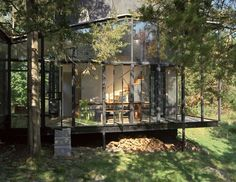 Little Tesseract House by Steven Holl Architects.