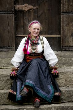 Folk Costume, Costumes, Traditional Dresses, Overalls, Slippers, Culture, Fabric, Folklore, Norway