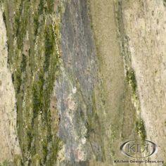 Waterfall Green Granite  (Kitchen-Design-Ideas.org)