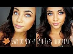 ▶ Day to Night FALL Eyes Tutorial - YouTube by SMLx0