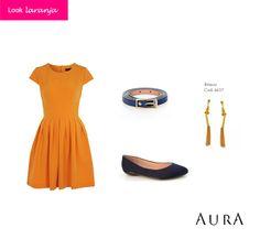 Se em 2014 você quer muita energia, alegria, autoconfiança e parceria nos relacionamentos, #laranja é a cor para a noite da virada! (Cod. do #Brinco: 4637) #auraprata #dicas #moda