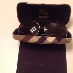 Authentic Burberry sunglasses So adorable! Authentic and in good condition! Any questions feel free to ask! No trades or pp. Burberry Accessories Sunglasses