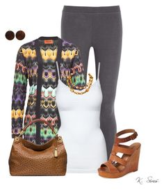 """""""Untitled #3487"""" by ksims-1 ❤ liked on Polyvore featuring Eberjey, Missoni, Lucky Brand, Michael Kors and Chanel"""