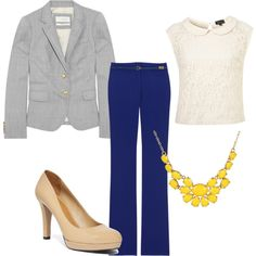 """Business Outfit"" on Polyvore"