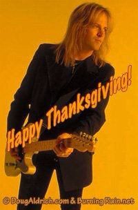 Doug Aldrich - Happy Thanksgiving 2010