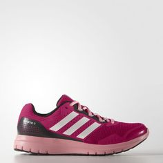 sale retailer 4f37d a3ad8 Adidas Duramo 7 Womens Shoes Bold Pink White Dark Grey Heather Solid Grey  B33561. addly · Adidas Ultra Boost