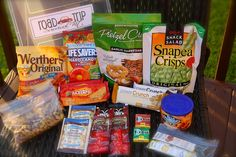Road Trip Care Package - Keeping A Long Drive Entertained - Road Trip Snacks