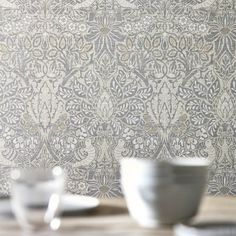 - Pure Dove & Rose, a Wallpaper by Morris & Co., part of the Pure Morris North Wallpapers collection Rabbit Wallpaper, Toile Wallpaper, Trellis Wallpaper, Print Wallpaper, Room Wallpaper, Scandi Wallpaper, Bird Wallpaper, Kitchen Wallpaper, Beautiful Wallpaper
