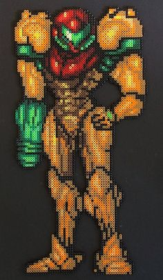 samus aran bead sprite - Google Search