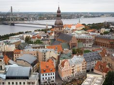 Travel Guide: Things to Do and See in Riga, Latvia-From a UNESCO-recognized Old Town to art nouveau architecture to lots of parks, here is a travel guide for the things you should do and see in Riga, Latvia.