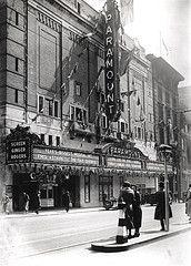 Paramount theatre Pilgrim Street, 1982