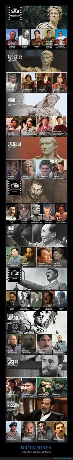 Dictadores y su representación en el cine: retórica forever