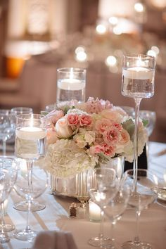 An Elegant DC Wedding from Eli Turner Studios - wedding centerpiece idea