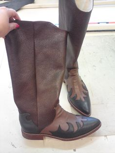 I made these boots.