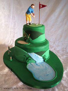 Golf Cake by quaintcake, via Flickr