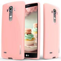 Caseology® LG G4 case [Daybreak Series] [Pink]