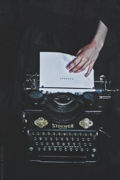 Where To Find Writing Inspiration Writing could and really does serve a motive in so Book Aesthetic, Aesthetic Vintage, Aesthetic Pictures, Aesthetic Dark, Story Inspiration, Writing Inspiration, Dark Princess, Slytherin Aesthetic, Vintage Typewriters