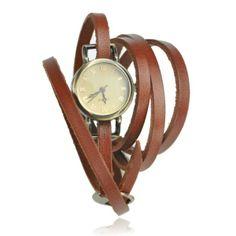 Vintage Style Multi-wraps Thin Belt Watch  $26.80