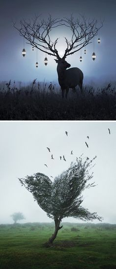 Surreal digital art by Justin Peters