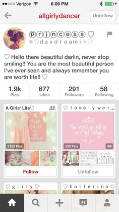 Hey lovelies!!! Please go follow my account! :) I will be deleting this one! ♡