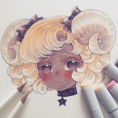 Aries ♈️ . This skin tone is too hard T^T