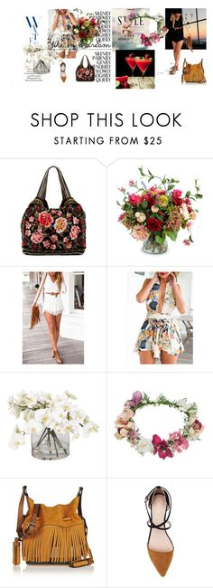 """""""Tarde de verano..."""" by maryrosa ❤ liked on Polyvore featuring KAROLINA, JWLA, New Growth Designs, Ethan Allen, Topshop, Burberry and ZALORA"""