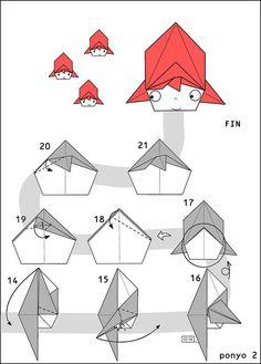 origami ponyo 2