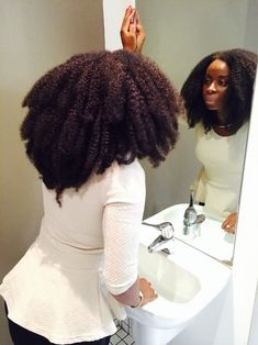So Thick! - http://www.blackhairinformation.com/community/hairstyle-gallery/natural-hairstyles/thick/ #naturalhairstyles