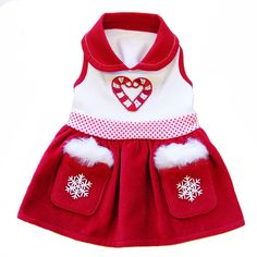 Snow Drop DOG Dress