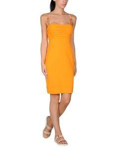 ¡Cómpralo ya!. VDP BEACH Vestido de playa mujer. punto jersey, logotipo, strass, monocolor básico, interior forrado , vestidoinformal, casual, informales, informal, day, kleidcasual, vestidoinformal, robeinformelle, vestitoinformale, día. Vestido informal  de mujer color naranja oscuro de VDP BEACH.
