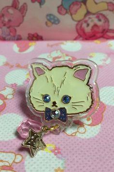 Twinkle Accessory Ring (White Cat) from SWIMMER - Lolita Desu