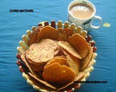 Corn Crackers - Makai Mathari   Simple Indian Recipes