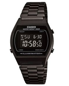 CASIO VINTAGE DIGITAL WATCH - BLACK BLACK